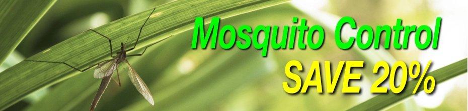 Mosquito, Tick & Flea Control