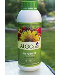 AlgoPlus All Purpose Fertilizer 6N - 6P - 6K 1 Liter