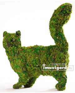 Cat Walking Topiary