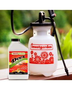 Deer Repellent Spice Scent Concentrate with Gallon Sprayer Special