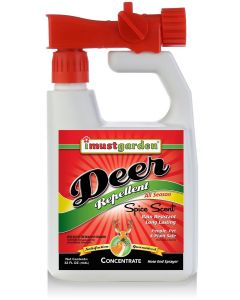I Must Garden Spice Scent Deer Repellent Hose End Sprayer