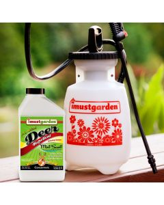 Deer Repellent MINT Scent Concentrate with Gallon Sprayer Special