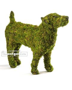 Jack Russell Terrier Topiary