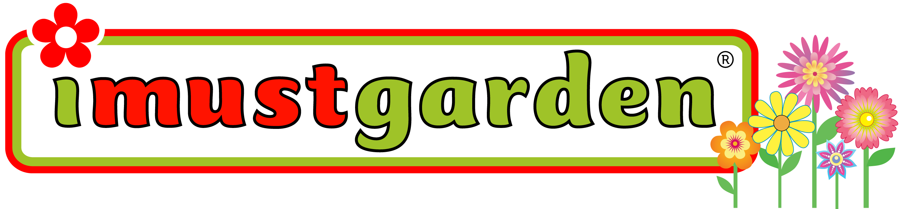 I Must Garden Gardening Logo
