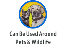 safe to use around pets